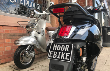 New 2021 Number Plate on your Moped EBike