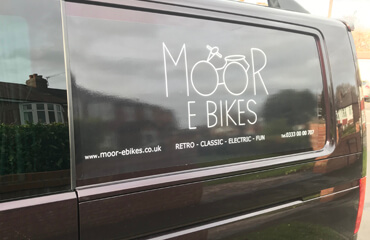 Moor EBikes Buy T6 VW Brand Signs Now On